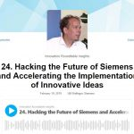 Podcast: Hacking the Future and Accelerating the Implementation of Innovative Ideas, Innovation Roundtable, 19th February 2019