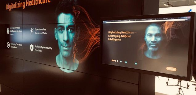 Talk: 'Impact with AI: How AI will augment human capabilities and the role of ResponsibleAI' at the ECR19 - European Congress of Radiology in Vienna, 1st of March 2019
