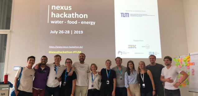 Panel: Nexus Hackathon Water-Food-Energy Nexus - sustainable urban development, 28th July 2019, Munich, Germany