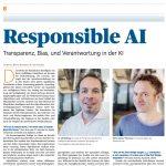 Handelsblatt: Responsible AI - Transparenz, Bias, und Verantwortung in der KI