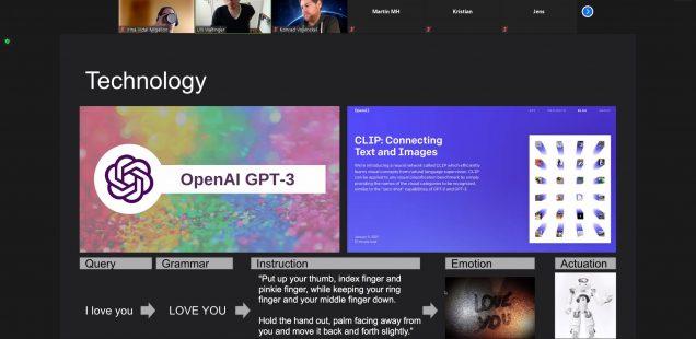 Hackathon: Open AI GPT3 Hackathon, Munich, 7th March 2021