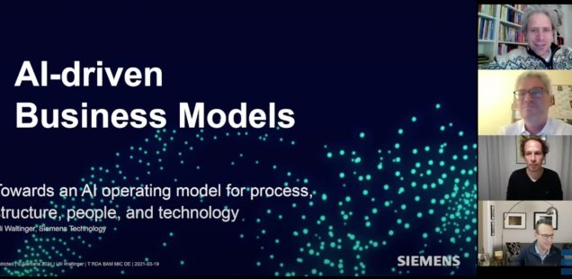 Talk: AI-driven Business Models, EBS University, 22nd March 2021